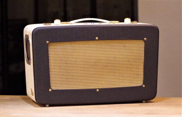 Enceinte portable vintage de thierrycréations - Golden Box-1