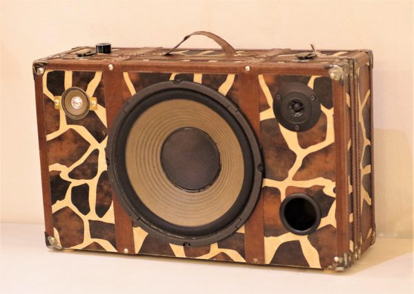 Enceinte portable vintage de thierrycréations - Jungle-2