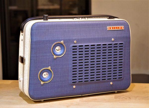 Enceinte portable vintage de thierrycréations - Discomètre-1