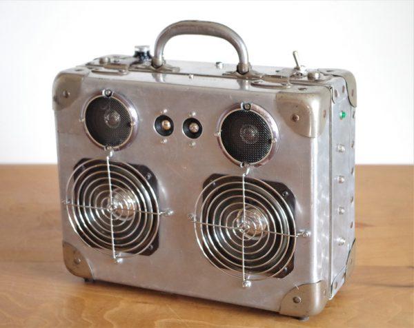 Enceinte portable vintage de thierrycréations - Spoutnik-1