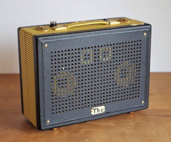 Enceinte portable vintage de thierrycréations - La Rayonnante-1