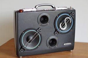 Enceinte portable vintage de thierrycréations - HOR$-TAX€-1