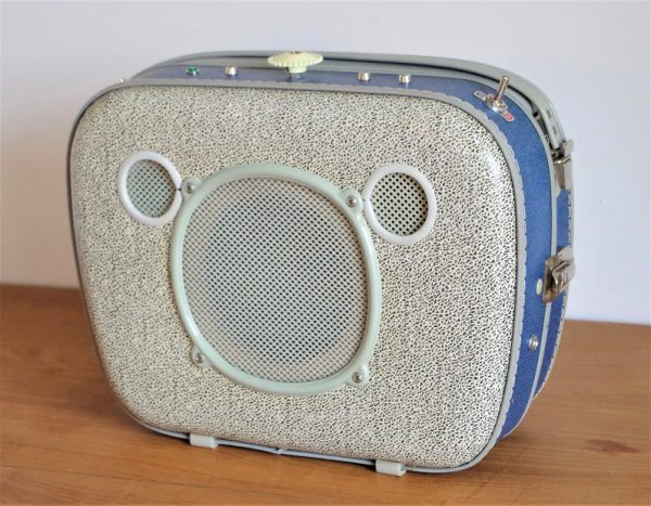 Enceinte portable vintage de thierrycréations - Oscar-1