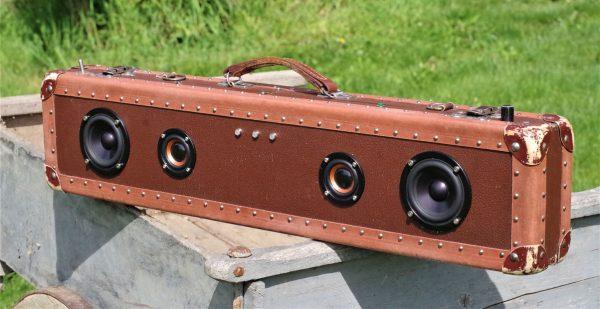 Enceinte portable vintage de thierrycréations - Winchester-1