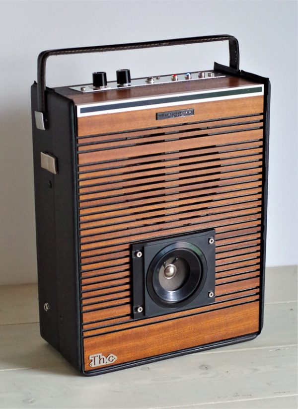Enceinte portable vintage de thierrycréations - O'bois-1
