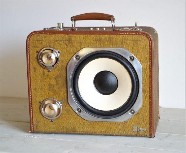 Enceinte portable vintage de thierrycréations - Country-1