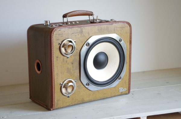 Enceinte portable vintage de thierrycréations - Country-2