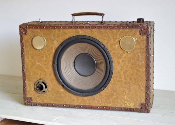 Enceinte portable vintage de thierrycréations - Mènestrel-1